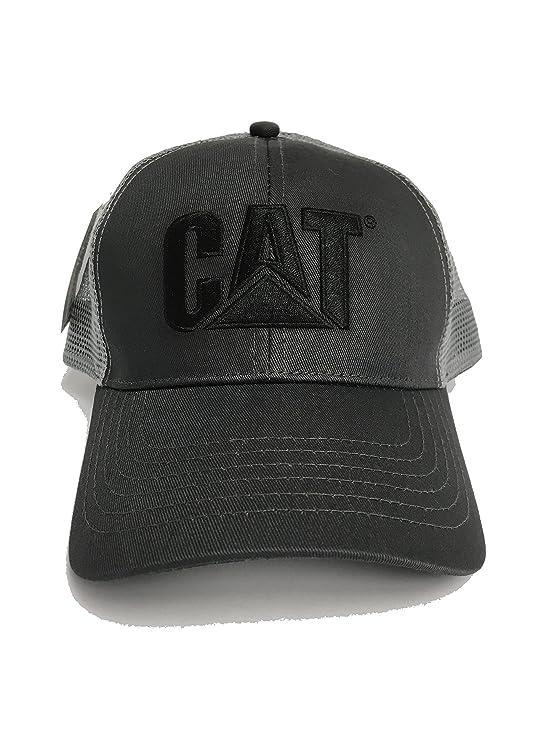 CAT Caterpillar Charcoal Gray Mesh Snapback Hat Baseball Cap at Amazon  Men s Clothing store  006c2423bd