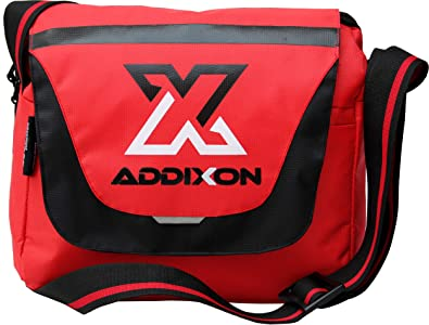 addixon stylish polyester small sling cross body messenger college/casual one side shoulder bag for unixsex-Multicolor