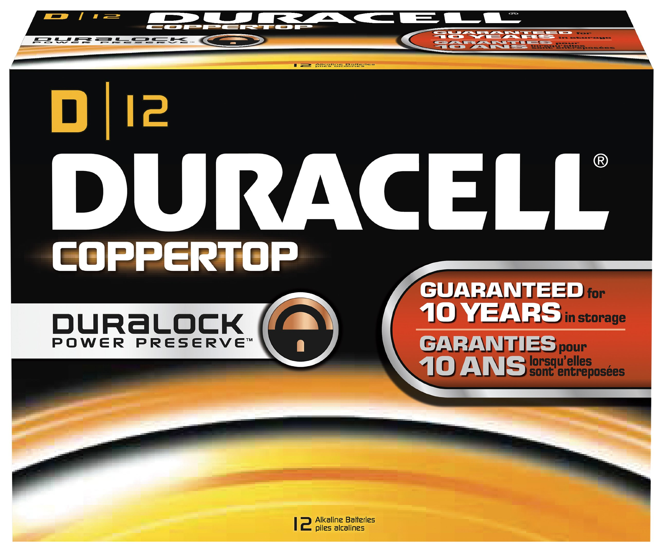 Duracell Coppertop D 12 Pack MN1300 by Duracell (Image #1)
