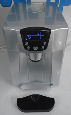 Reggio IWMD100SV Portable Table Top Ice Maker And Water Dispenser In Silver