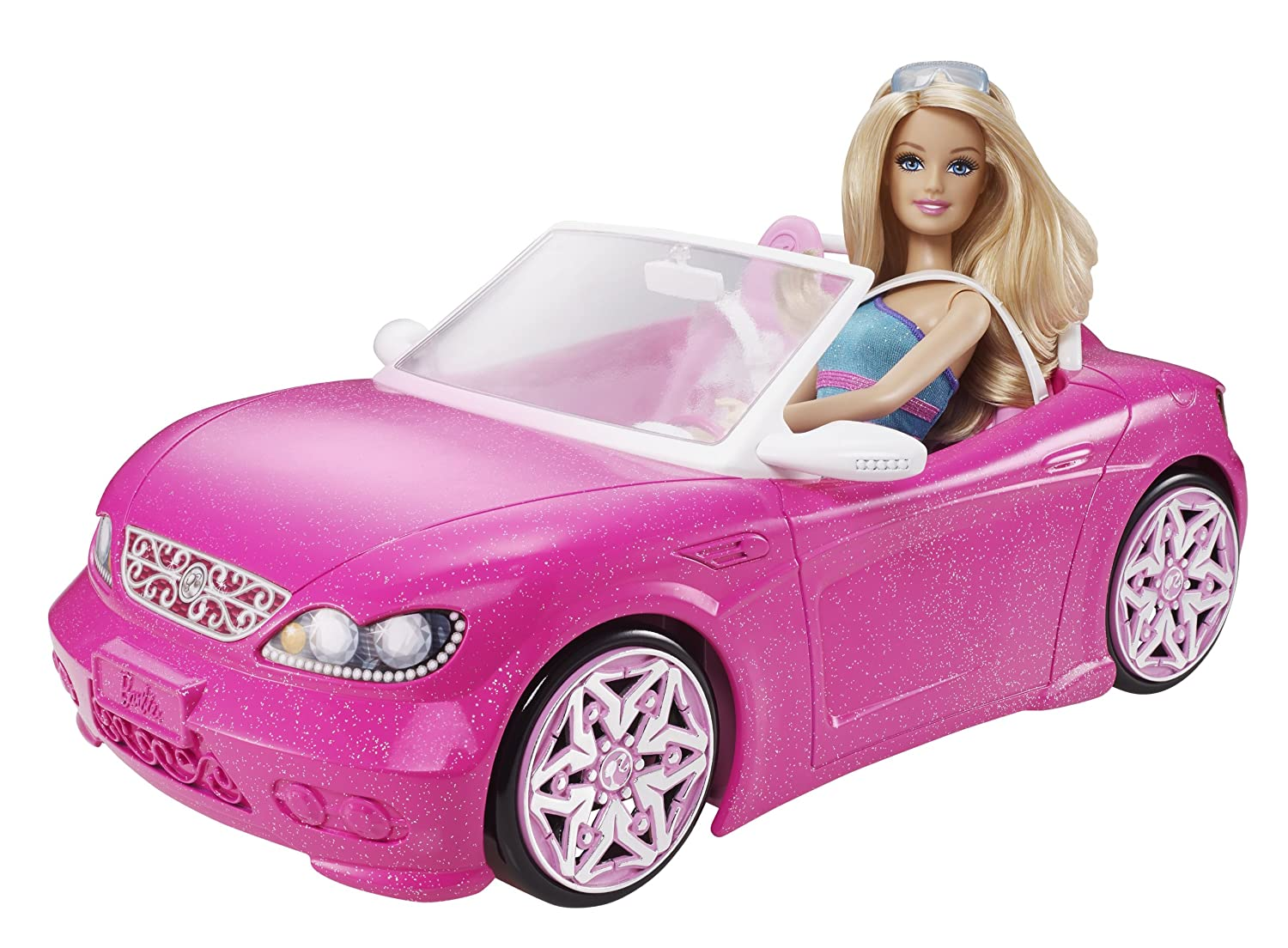 amazoncom barbie glam convertible toys games