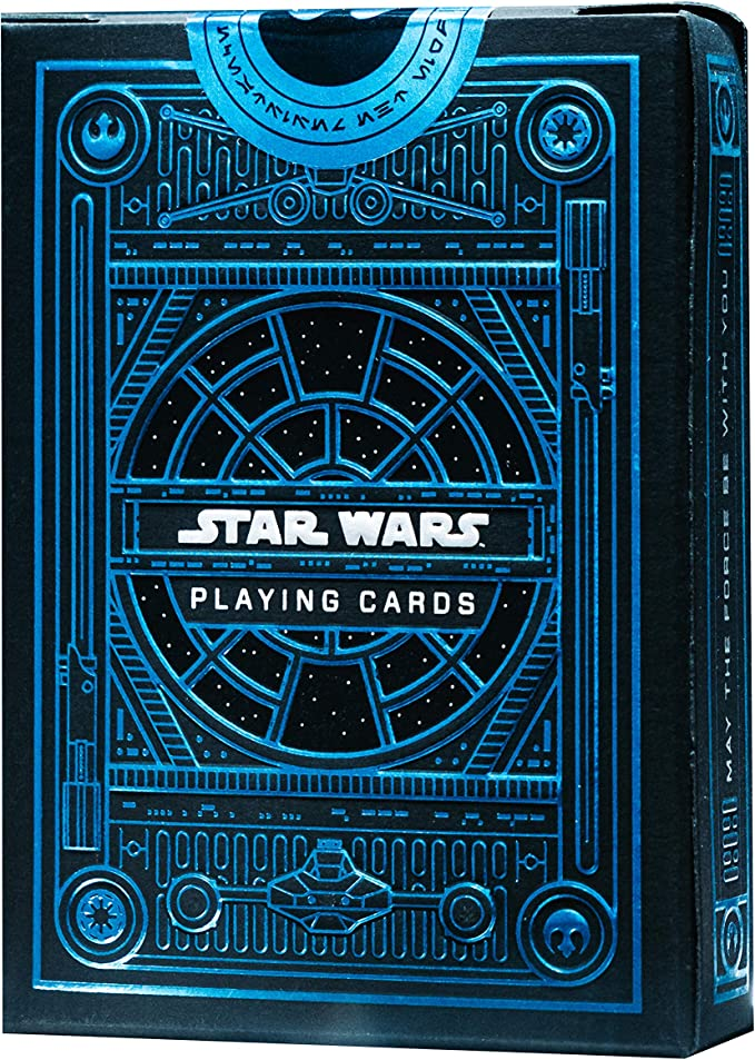 Amazon.com: theory11 Star Wars Playing Cards - Light Side (Blue): Sports & Outdoors