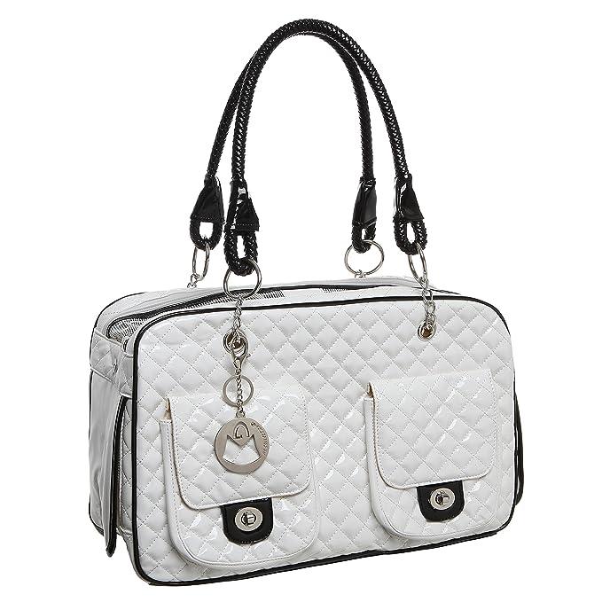 Amazon.com: Mg Collection® White Quilted Diseñador Inspirado ...