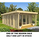 Allwood Girona | 202 SQF Cabin Kit with 3 rooms