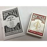 BICYCLE(バイスクル)トランプ/DAVID BLAINE(デビッドブレイン)【赤】:TRANSFORMATION DECK
