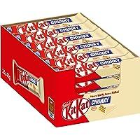 Nestlé KitKat ChunKy White, knuspriger Schokoriegel, mit weißer Schokolade & knuspriger Waffel, Multi-Pack, Menge: 24er Pack (24 x 40 g)
