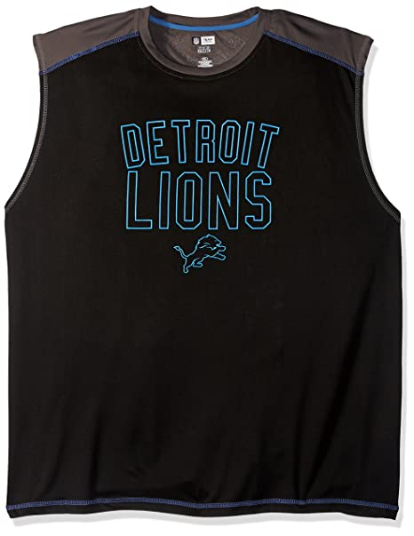 aeeec62d4 Image Unavailable. Image not available for. Color  Profile Big   Tall NFL  Detroit Lions ...