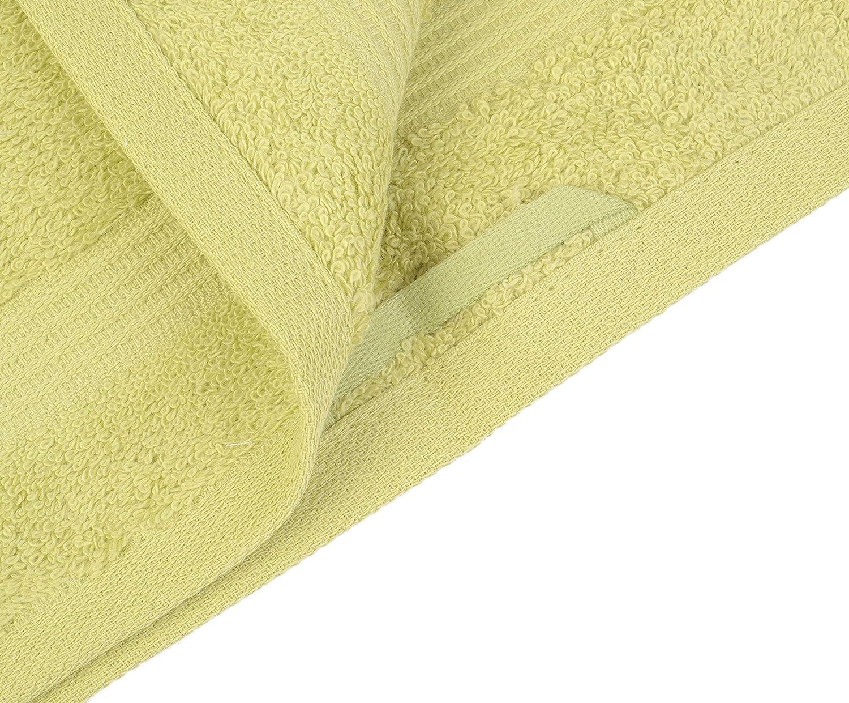 Gözze 550-5030-A2 - Manopla de baño (100% algodón, 550 g/m²), color amarillo: Amazon.es: Hogar