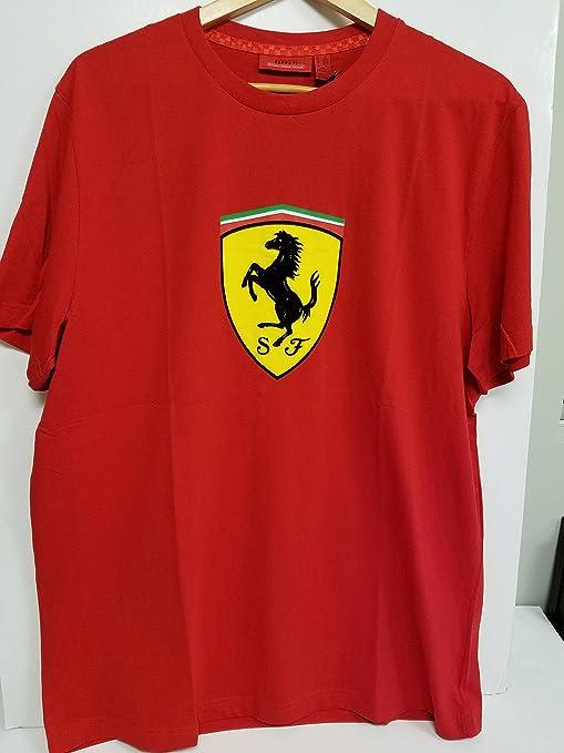 Scuderia Ferrari Camiseta Oficial Clásica Roja XL: Amazon.es: Deportes y aire libre