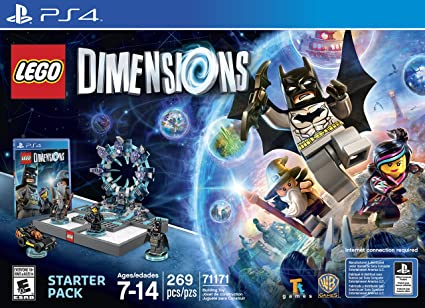 Lego Dimensions Starter Pack Playstation 4 Playstation 4 Computer