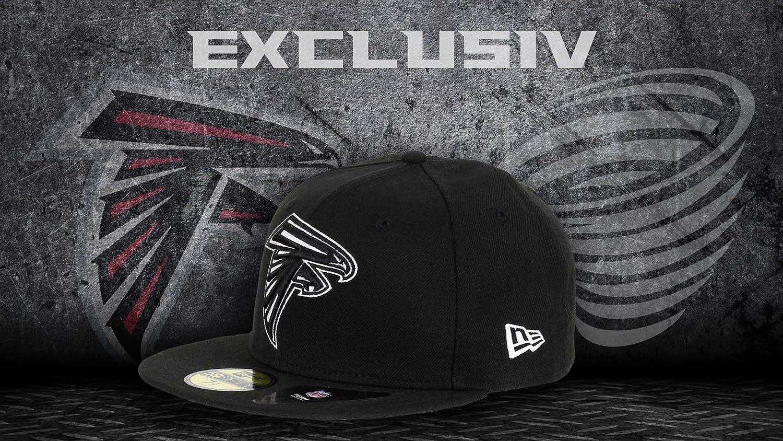 Atlanta Falcons Black Black White Edition 59fifty Basecap New Era