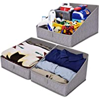 Deals on 3-Pack GRANNY SAYS Open Storage Bins Shelf Organizer Bins