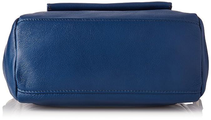 3c8435cfbf3c4 Kate Lee femme Lou Sacs bandouliere Bleu (Co Gitane)  Amazon.fr  Chaussures  et Sacs