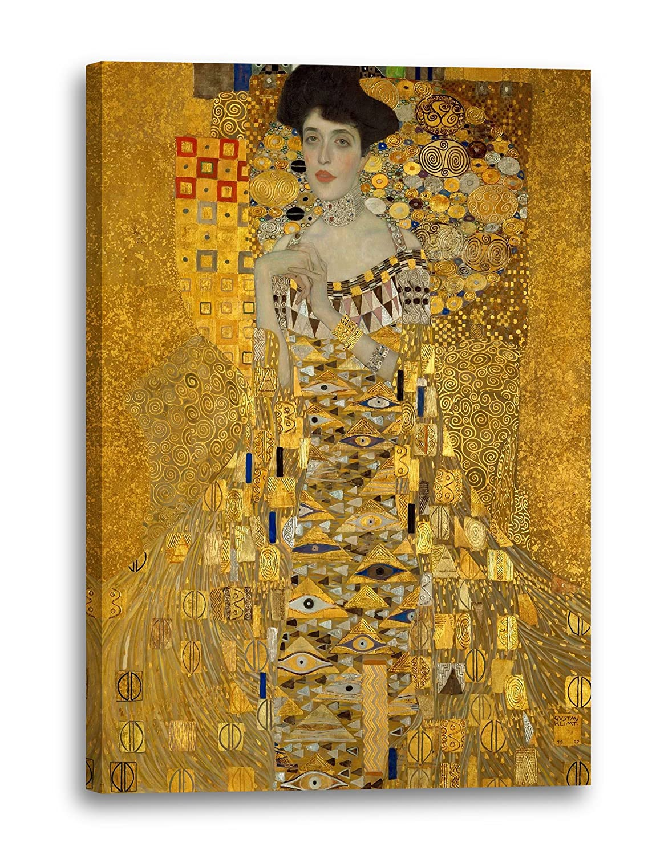 Printed Paintings Leinwand (80x120cm)  Gustav Klimt - Adele Bloch-Bauer I (1907)