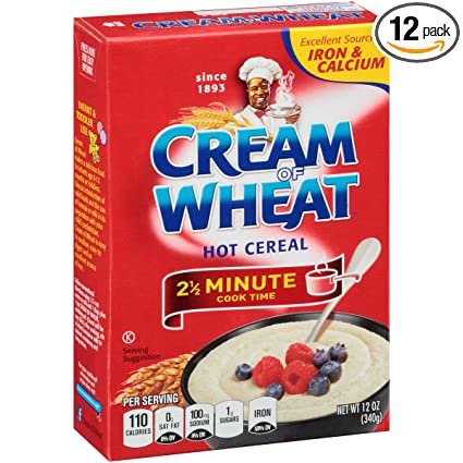 Amazon.com: Cream of Wheat Original Stove Top Hot Cereal, 2 1/2 ...
