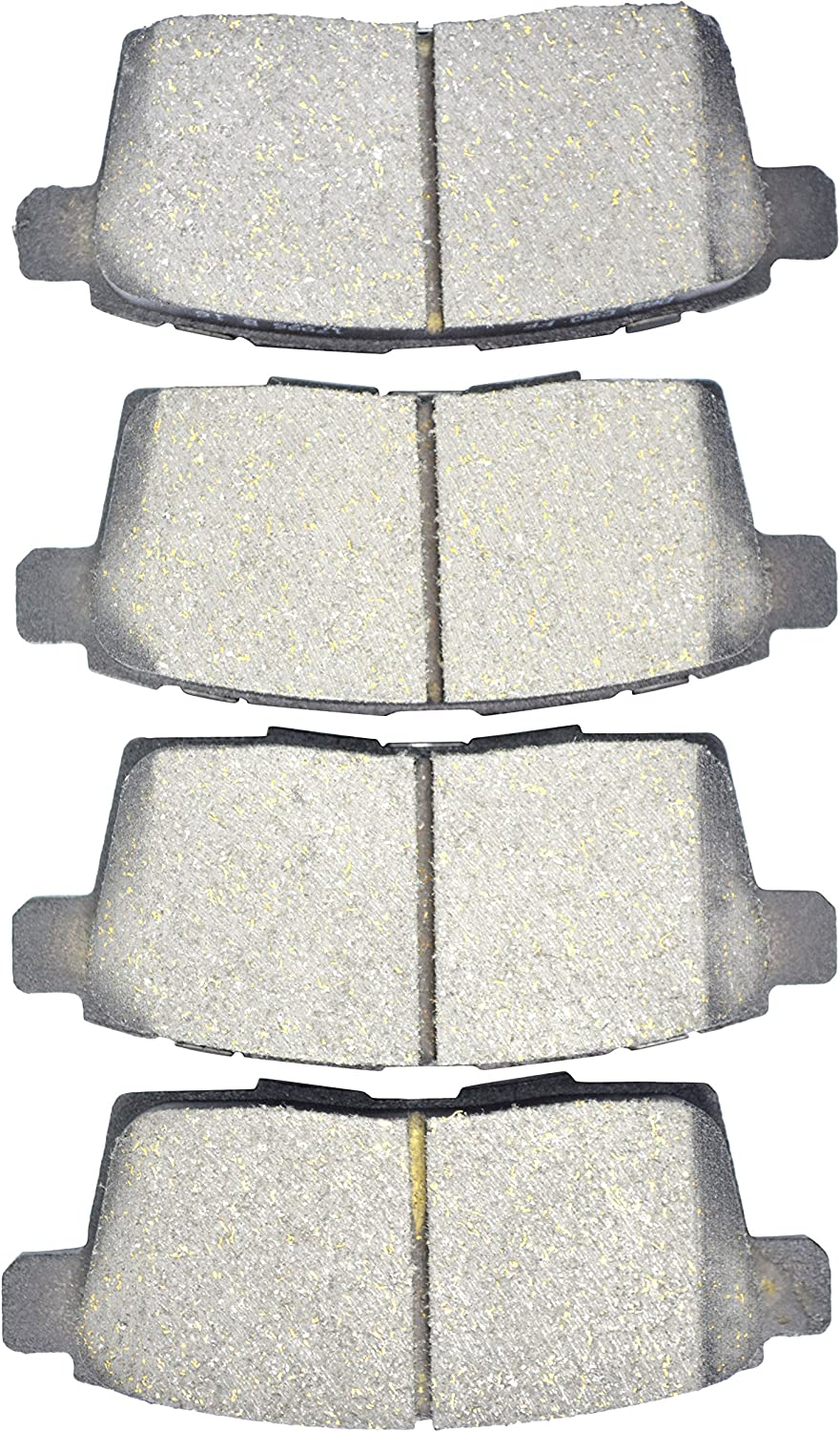 Dash4 MD1259 Semi-Metallic Brake Pad