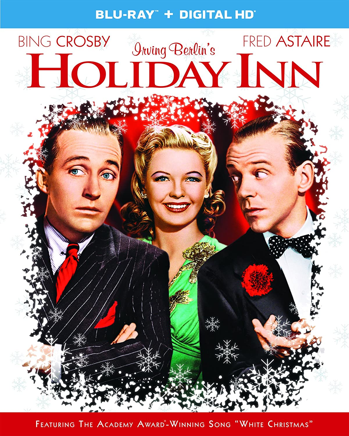 Amazon.com: Holiday Inn [Blu-ray]: Bing Crosby, Fred Astaire ...