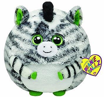Ty Beanie Ballz 38940 Plush Cuddly Toy Oasis Ball X Large Zebra