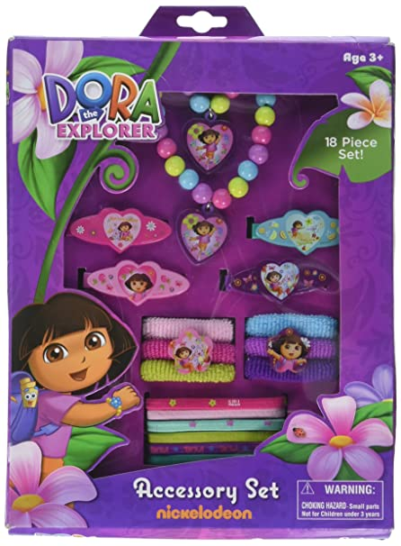 Buy Dora The Explorer Hair and Jewelry Box Set Online at Low Prices