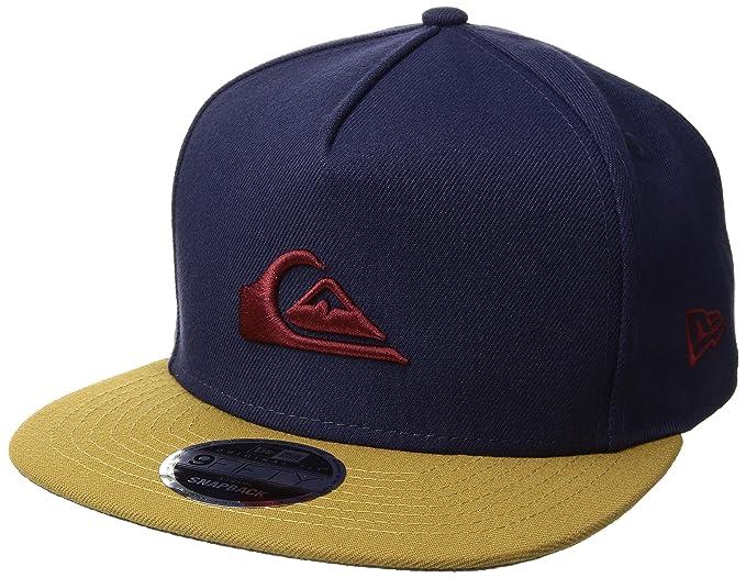 708b6dd2 Quiksilver Men's Stuckles Snap Trucker Hat, Navy Blazer, One Size ...