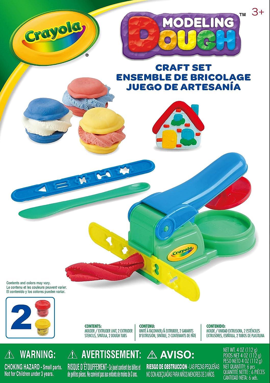 Crayola A1-1013 Set Juega y Moldea - Pasta para Modelar: Amazon.es ...