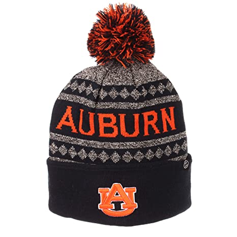 Amazon.com   Auburn Tigers Official NCAA Mogul Cuffed Pom Knit ... ff3c03aa6083