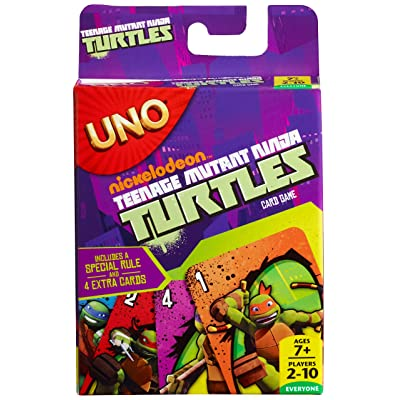 Teenage Mutant Ninja Turtles UNO Card Game: Toys & Games