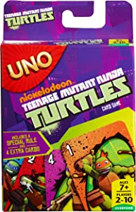 Teenage Mutant Ninja Turtles UNO Card Game