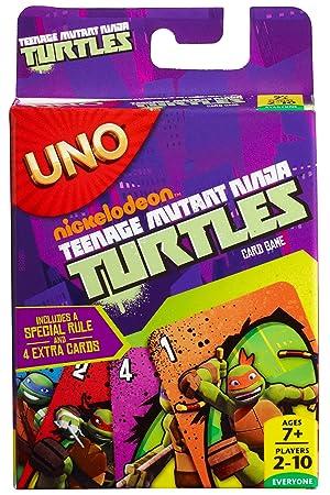 MATTEL Uno ĹťĂlĹ'wie Ninja [KARTY]: Amazon.es: Juguetes y juegos