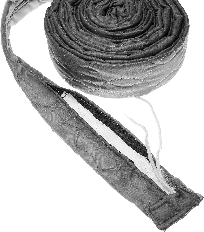 vhbw Schutz/überzug f/ür Zentral-Staubsaugerschlauch L/änge: 12m von Vacuflo z.B Crossvac Durchmesser: 65mm Nilfisk