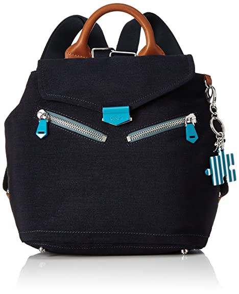 Kipling - On A Roll, Mochilas Mujer, Blau (Urban Blue), One Size: Amazon.es: Zapatos y complementos