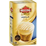 Moccona Instant Coffee Vanilla Latte - 10 Individuals Sachets (150g x 3 Packs)