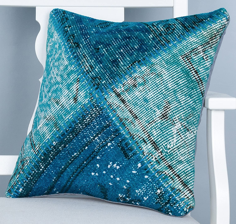 Rug Pillow Cover Throw Pillow Rug Cushion Outdoor Pillow Rustic Decor Carpet Pillow Case Anatolian Pillow Sofa Pillow Turkish Pillow