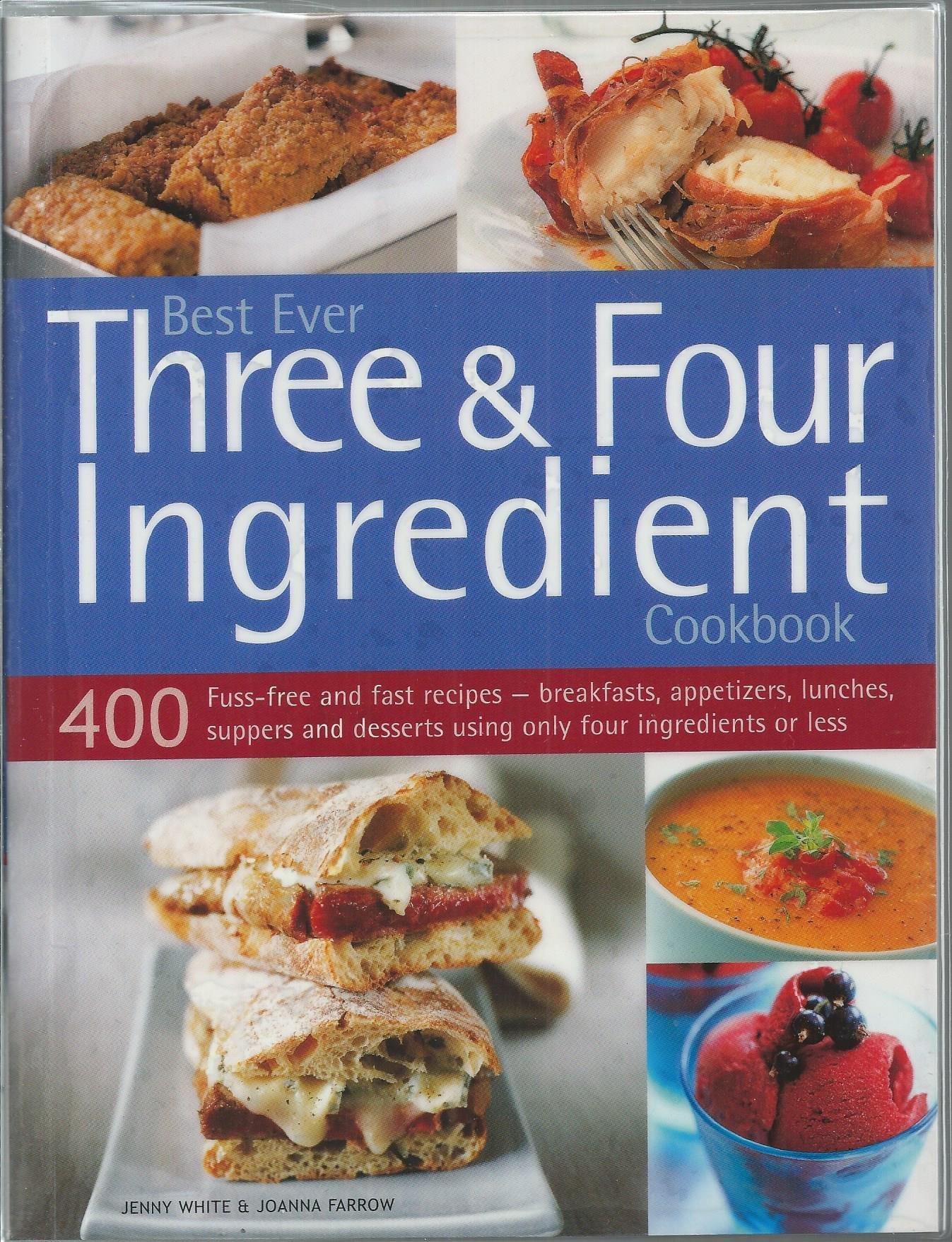 Best Ever Three Ingredient Cookbook product image
