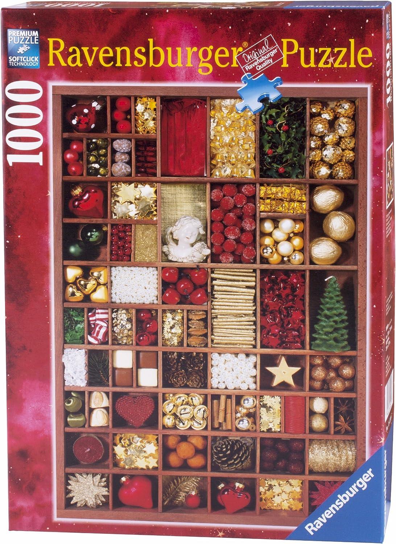 Ravensburger 19239 Weihnachtsschmuck 1000 Teile Puzzle
