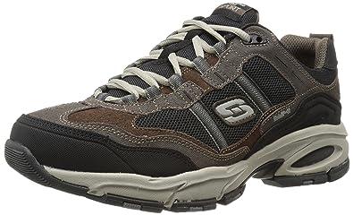 Skechers Men's Vigor 2.0 Trait Brown and Black Training Shoe - 10