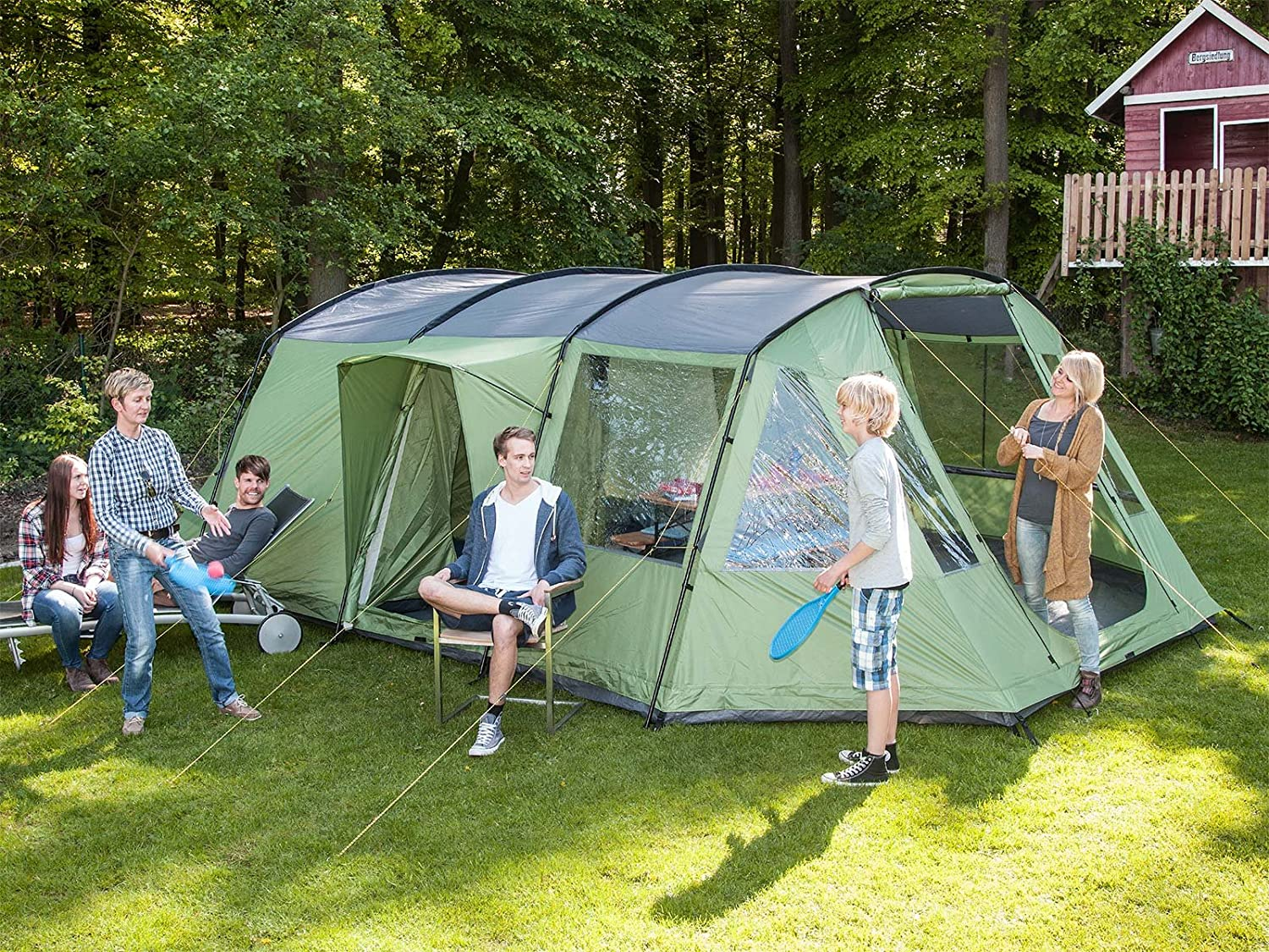 skandika waterproof nordland unisex outdoor tunnel tent available