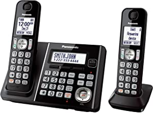Amazon com : Panasonic KX-TG7643M dect 6 0 Link-to-Cell