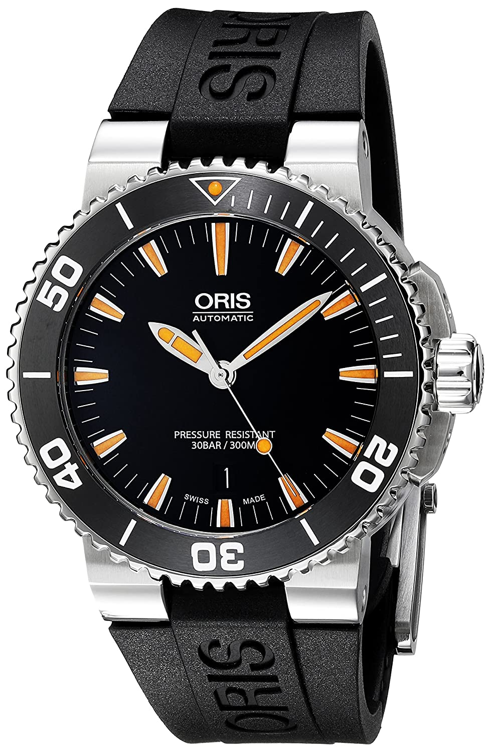 Oris Men s Swiss Automatic Stainless Steel Casual Watch Model 73376534159RS