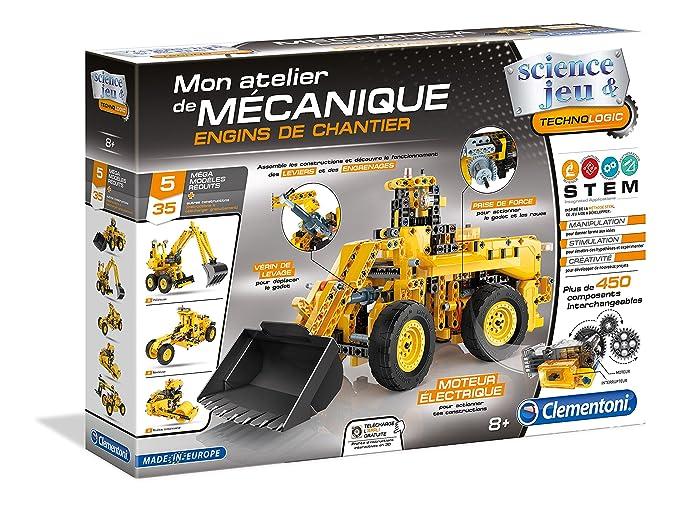 Taller Clementoni Vehículos Construcción 52262 De Mecánico 54RqA3Lj