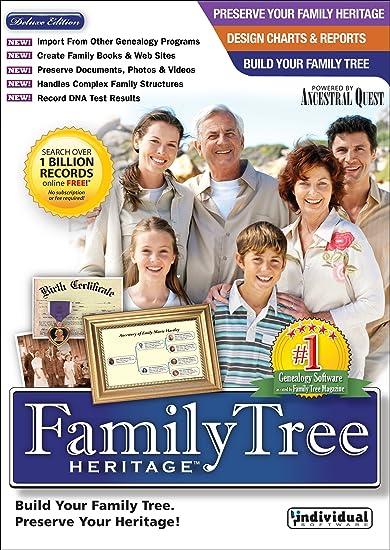 Family Tree Heritage Deluxe V7 0
