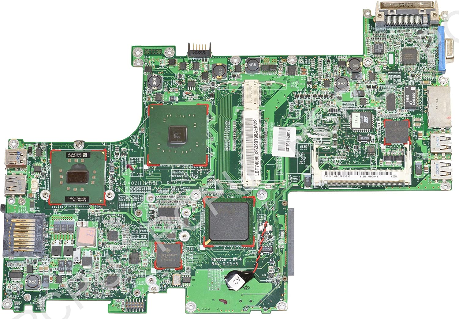 LB.T7406.002 Acer Travelmate 3000 Laptop Mainboard