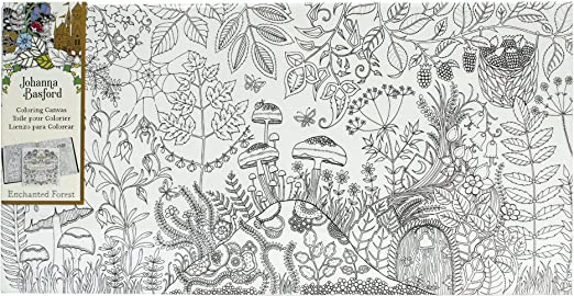 Artist Johanna Basford Enchanted Forest Coloring pages Garden ... | 270x522