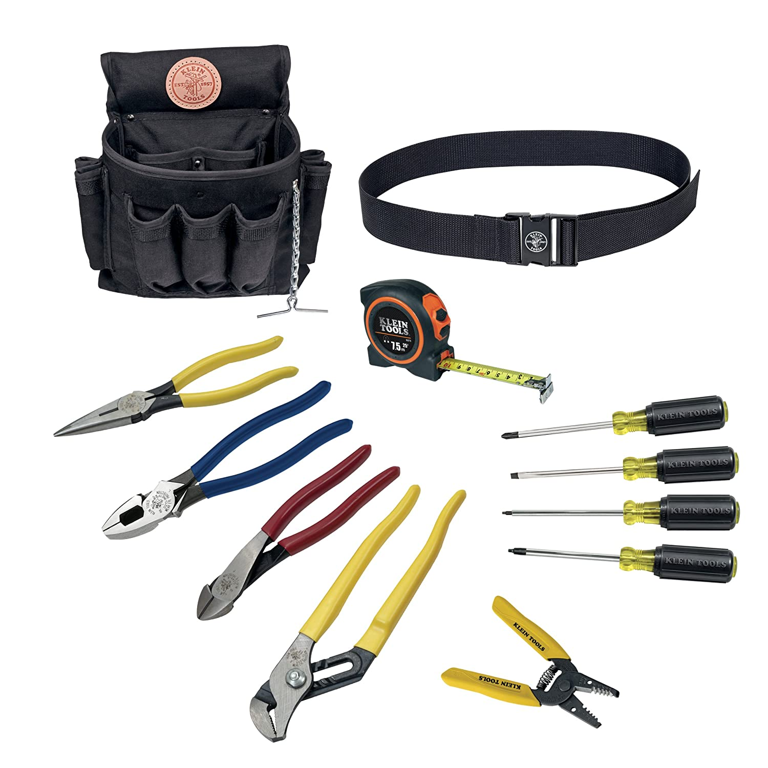 Klein Tools 92003 Electrician Tool Set 12 Piece