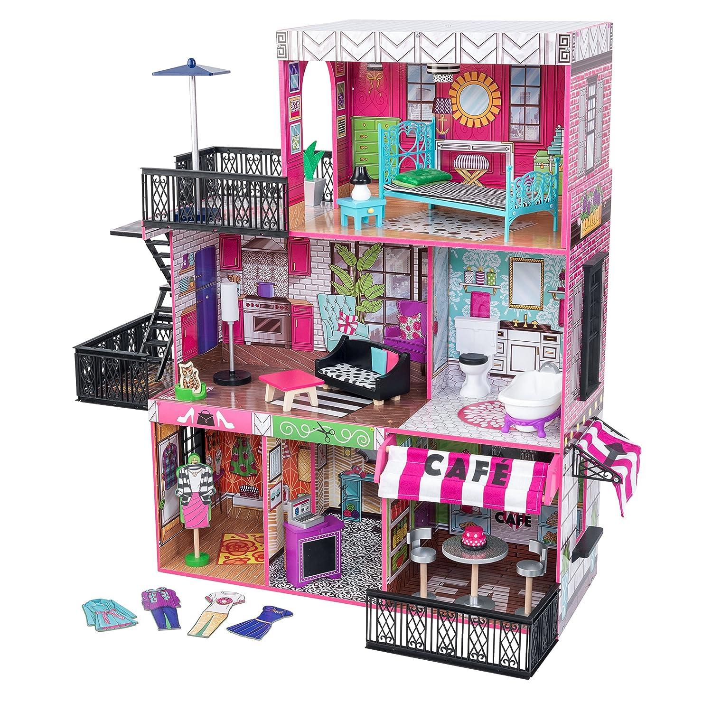 Barbie Haus Holz mit Licht und Soundeffekten - Kidkraft Brooklyn's Loft