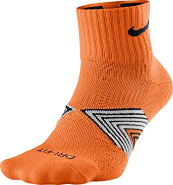 cáustico Comprometido abortar  NIKE Running Dri Fit Cushioned Calcetines, Hombre, Naranja (Total  Orange/Black/Black), L: Amazon.es: Ropa y accesorios
