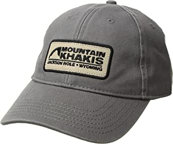Charcoal Mountain Khakis Trucker Cap