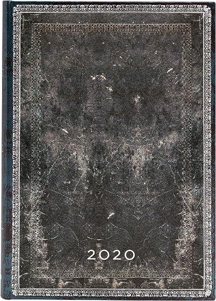 Midi 130 /× 180 mm Paperblanks Agende 12 Mesi 2020 Kikka Giornaliera