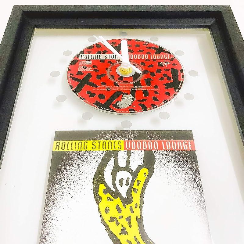 Crush BON JOVI GERAHMTE CD-WANDUHR//Exklusives Design