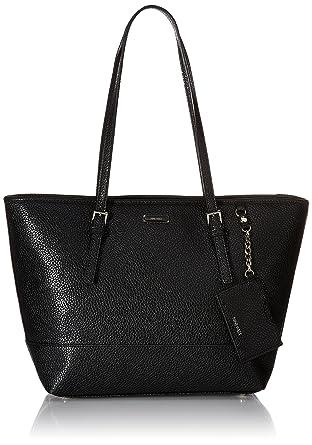 Amazon.com: Nine West Ava Tote Bag, Black, One Size: Nine West ...